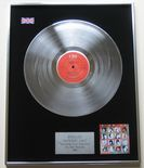 BANGLES - Different Light PLATINUM LP PRESENTATION Disc